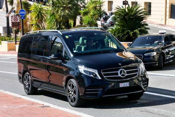 Mercedes-Benz W447 Viano stock photo
