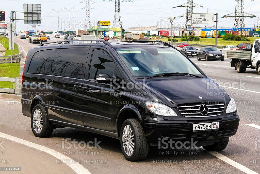 Mercedes-Benz W639 Viano stock photo