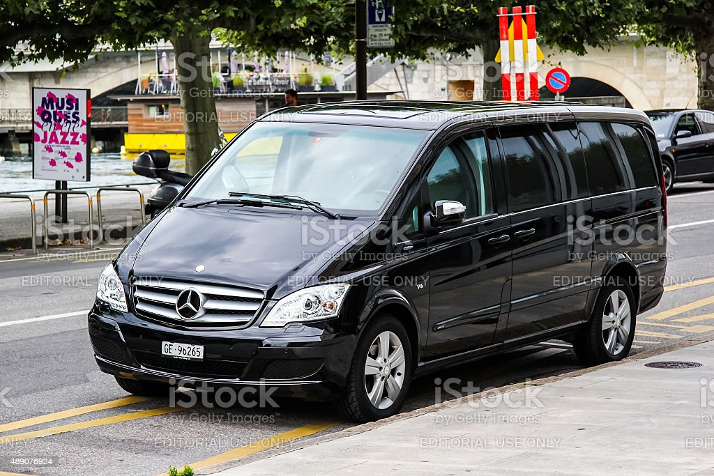 Mercedes-Benz W639 Vito stock photo