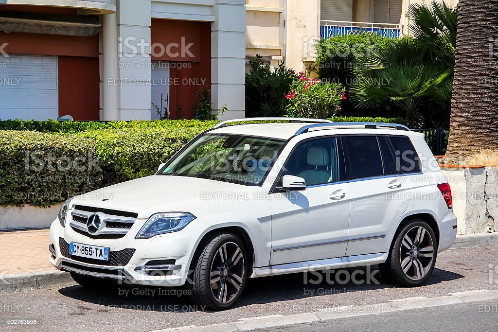 Mercedes-Benz X204 GLK-class stock photo