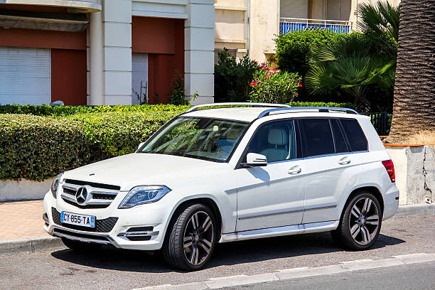 Mercedes-Benz X204 GLK-class stock photo