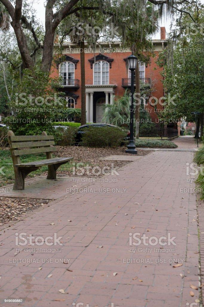 Mercer House Savannah Georgia Stockfoto Und Mehr Bilder Von Alt Istock