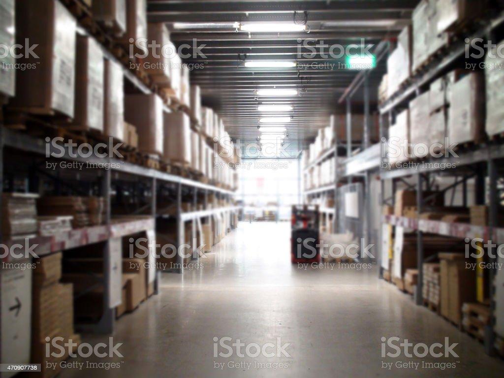 Merchandise Warehouse stock photo