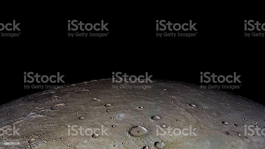 Mercury area stock photo