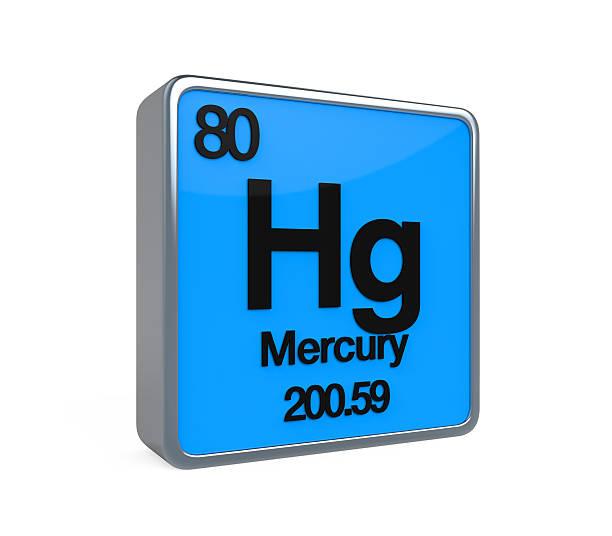 mercury element periodic table - mercury metal stock photos and pictures