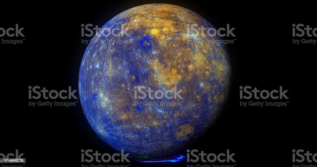 Mercury Full Colour stock photo