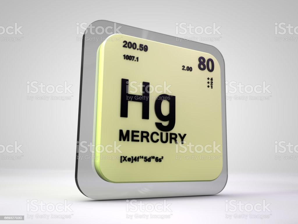 Mercury hg chemical element periodic table 3d render stock photo laboratory number symbol italy atom mercury hg chemical element periodic table gamestrikefo Images