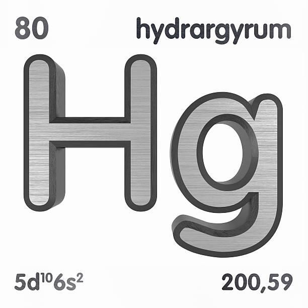 Royalty Free Symbol For The Chemical Element Mercury Pictures