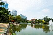 Mere in Botanic Garden
