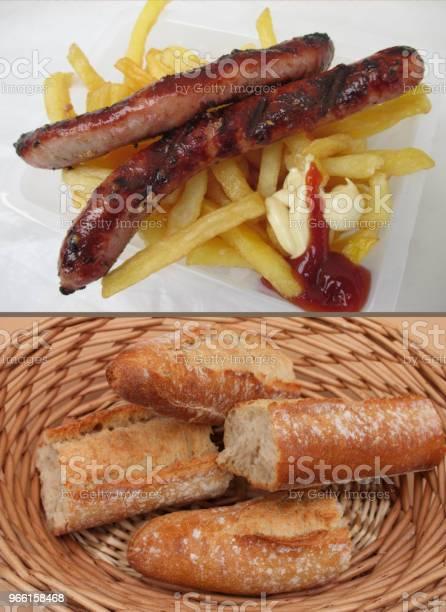 Merguez Frites Crunch-foton och fler bilder på Bröd