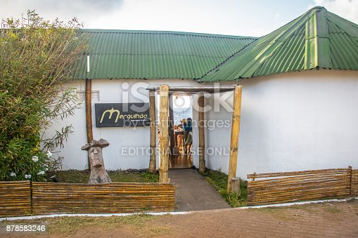 istock Mergulhao Restaurant at Santo Antonio Port - Fernando de Noronha, Pernambuco, Brazil 878583246