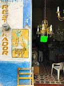 Merida, Yucatan, Mexico: Chandelier-Restoration Shop