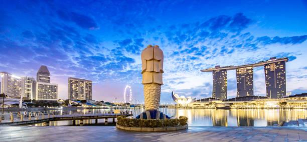 Merlion Singapur – Foto