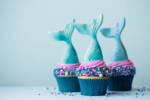 Meerjungfrau Cupcakes – Foto