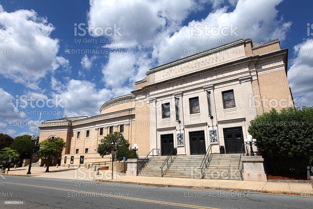 Merrimack Repertory Theatre Stock Photo & More Pictures of Horizontal
