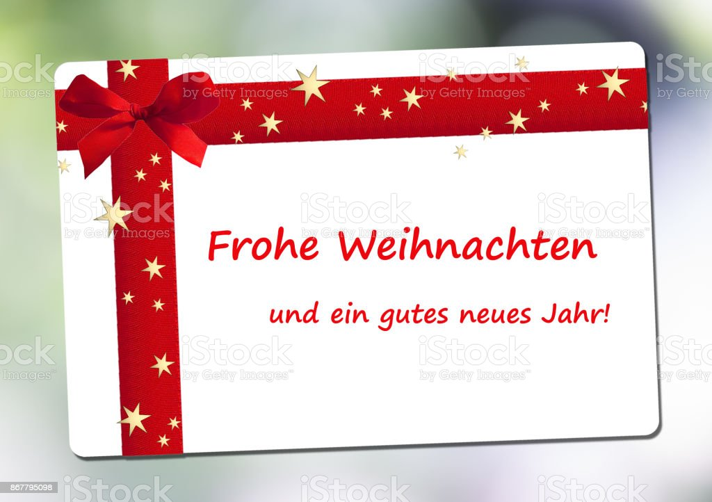 Merry christmas and a happy new year in german language stock photo merry christmas and a happy new year in german language royalty free stock photo m4hsunfo