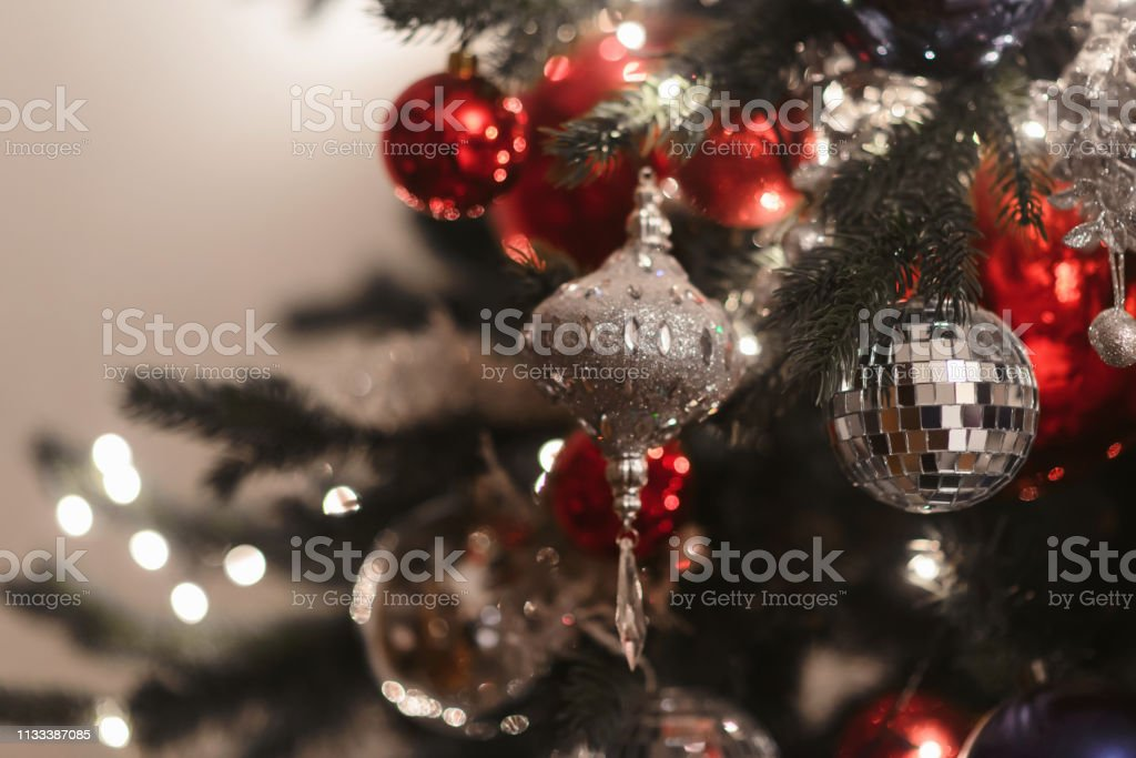 Merry Christmas and Happy New year Holidays! Decorating the Christmas...