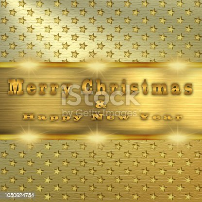 istock Merry Christmas and Happy New Year 1050624754