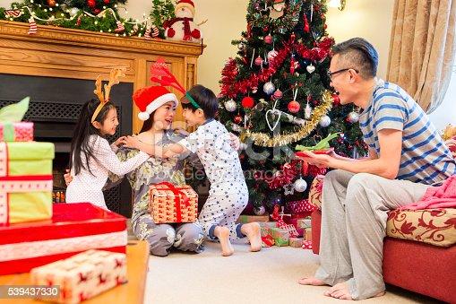 istock Merry Christmas Mum! 539437330