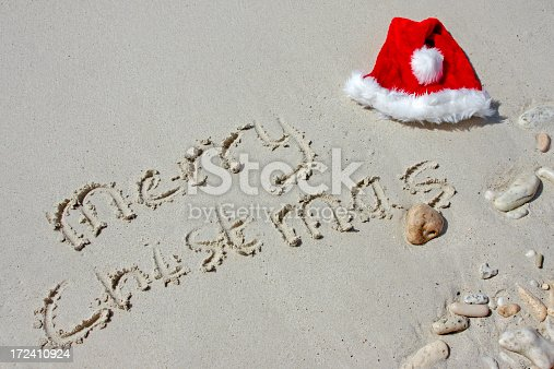 Christmas on the beach, please see also my other sand images and the new year 2008 images in my lightbox: