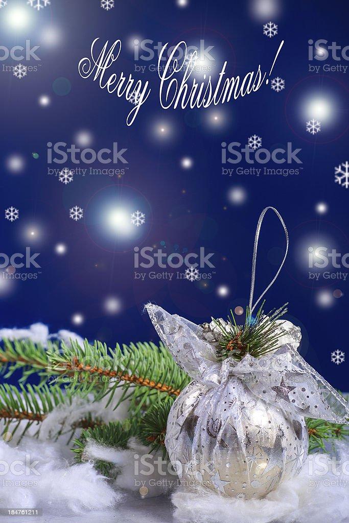 Merry Christmas ! royalty-free stock photo