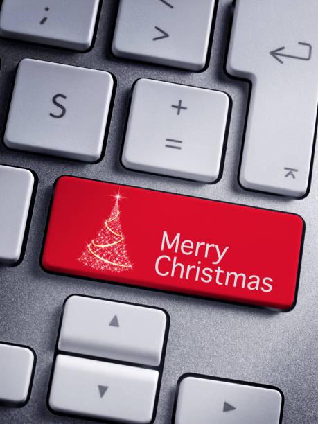 frohe weihnachten - weihnachtsprogramm stock-fotos und bilder
