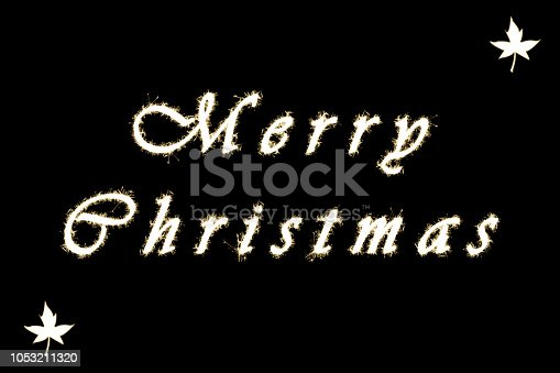 istock merry christmas sparkle effect 1053211320