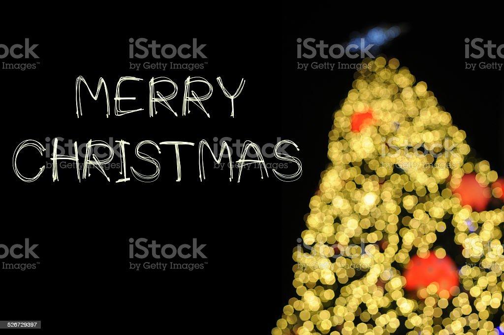Frohe Weihnachten Glitzer.Frohe Weihnachten Glitzerfeuerwerk Mit Bokeh Stockfoto Und