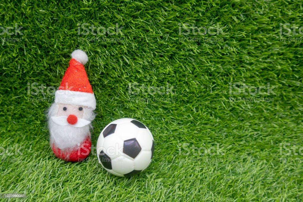 Frohe Weihnachten Fussball Stockfoto Und Mehr Bilder Von