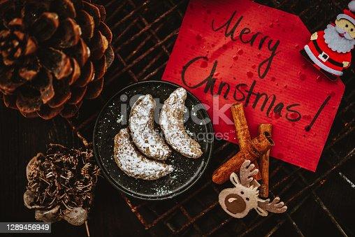 Traditional German Christmas Cookies Called