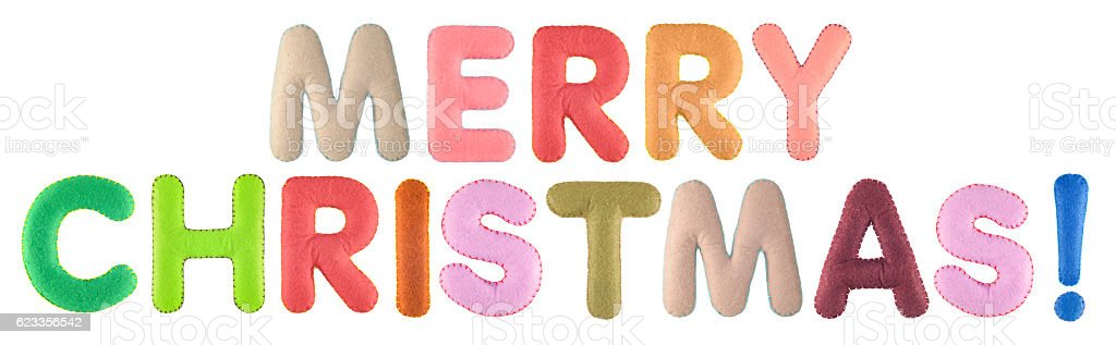 merry christmas words isolated on white background royalty free stock photo - Merry Christmas Words