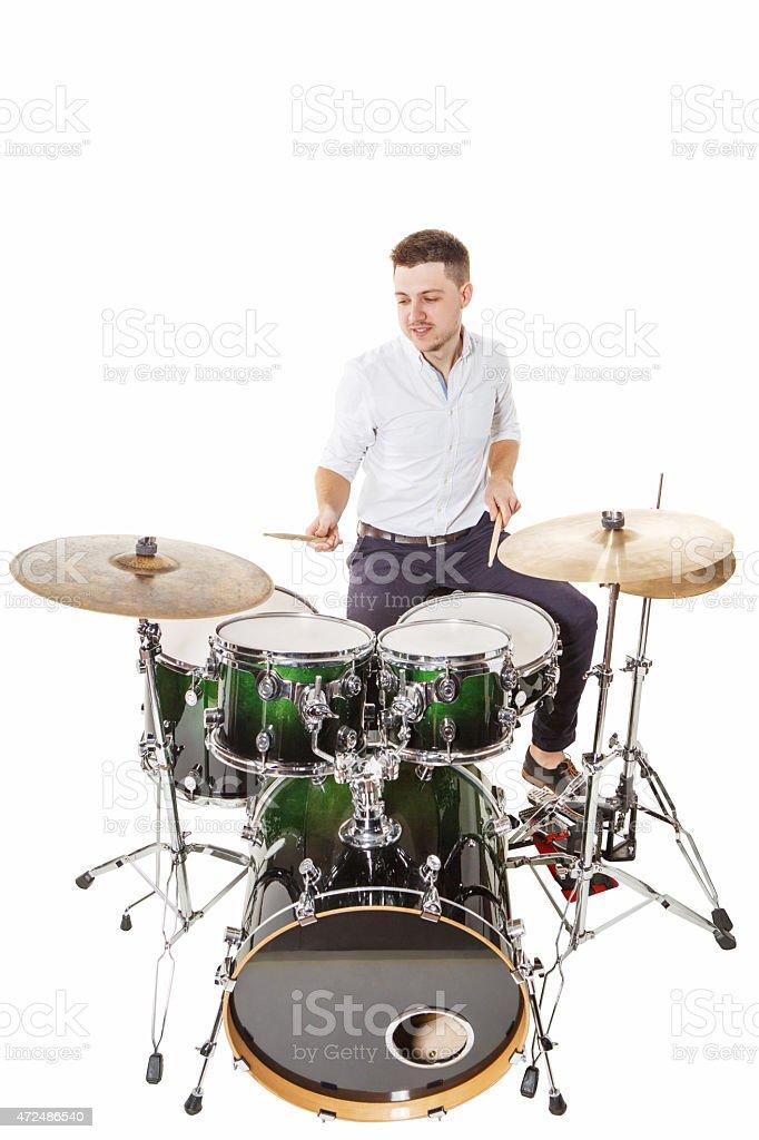 Merry drummer – Foto