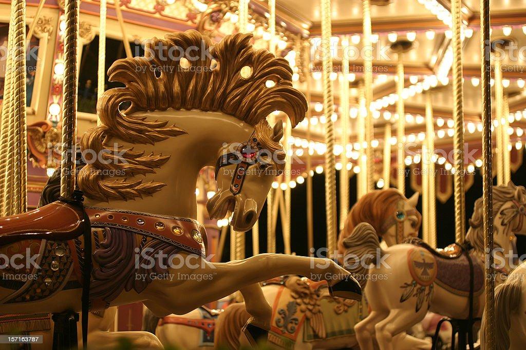 Merry Go Round royalty-free stock photo