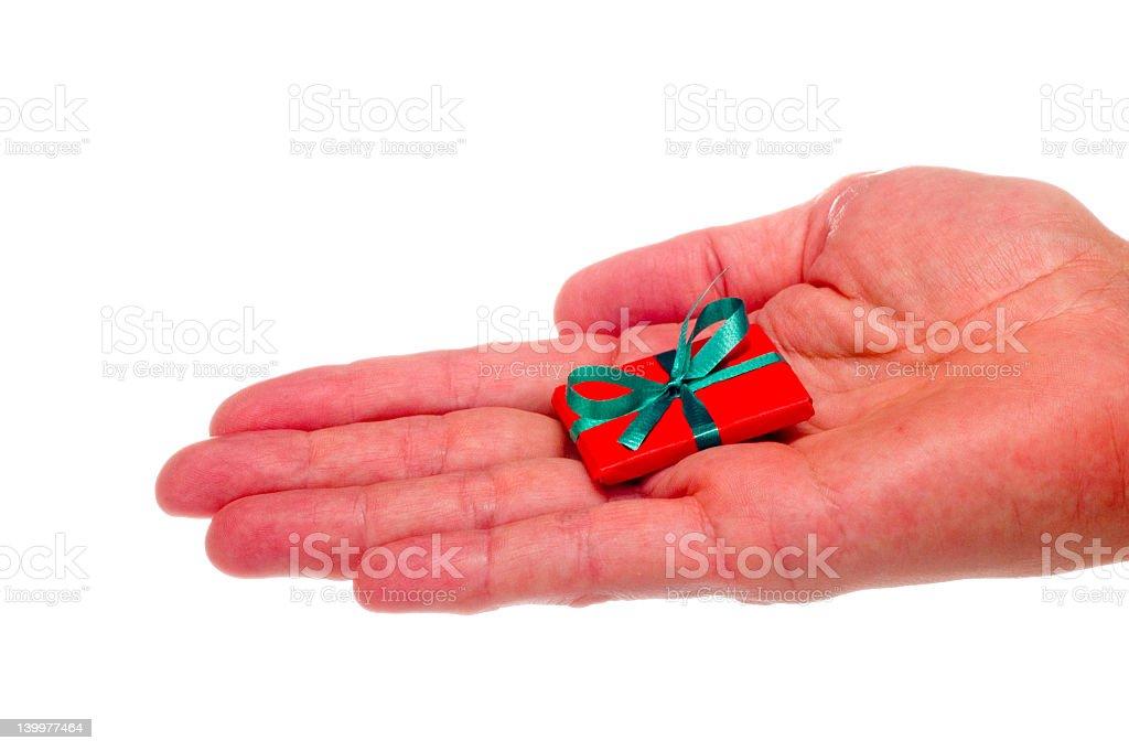 Merry Little Christmas stock photo