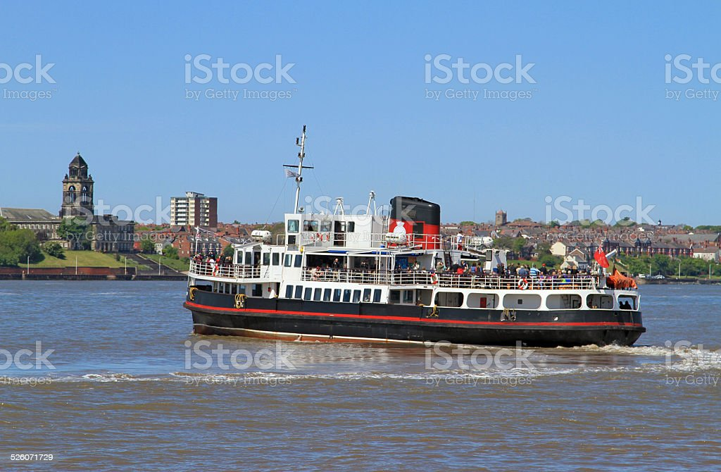 Mersey Ferry royalty-free stock photo