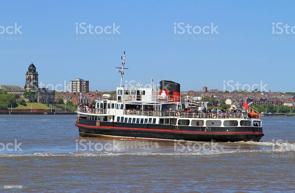 Mersey Ferry stock photo