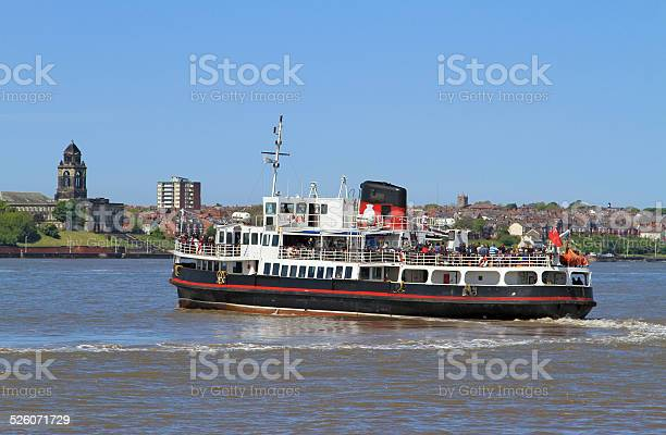Mersey Ferry Stock Photo - Download Image Now