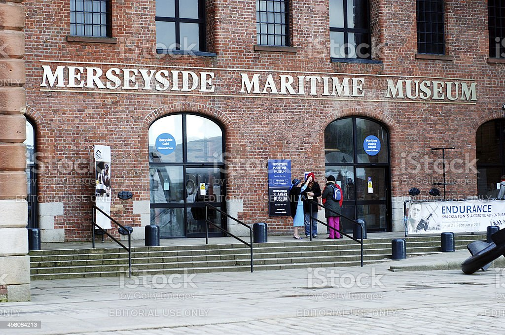 Merseyside Maritime Museum in the Albert Dock, Liverpool stock photo