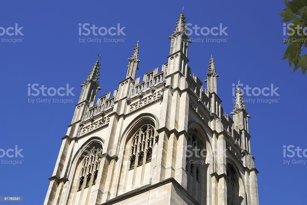 Merton College Chapel. Oxford. England royalty-free stock photo