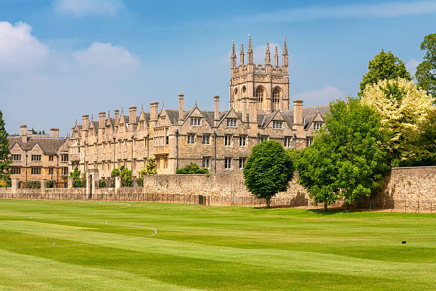 Merton College. Oxford, UK stock photo