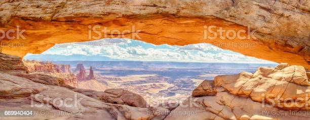 Mesa Arch At Sunrise Canyonlands National Park Utah Usa Stock Photo - Download Image Now