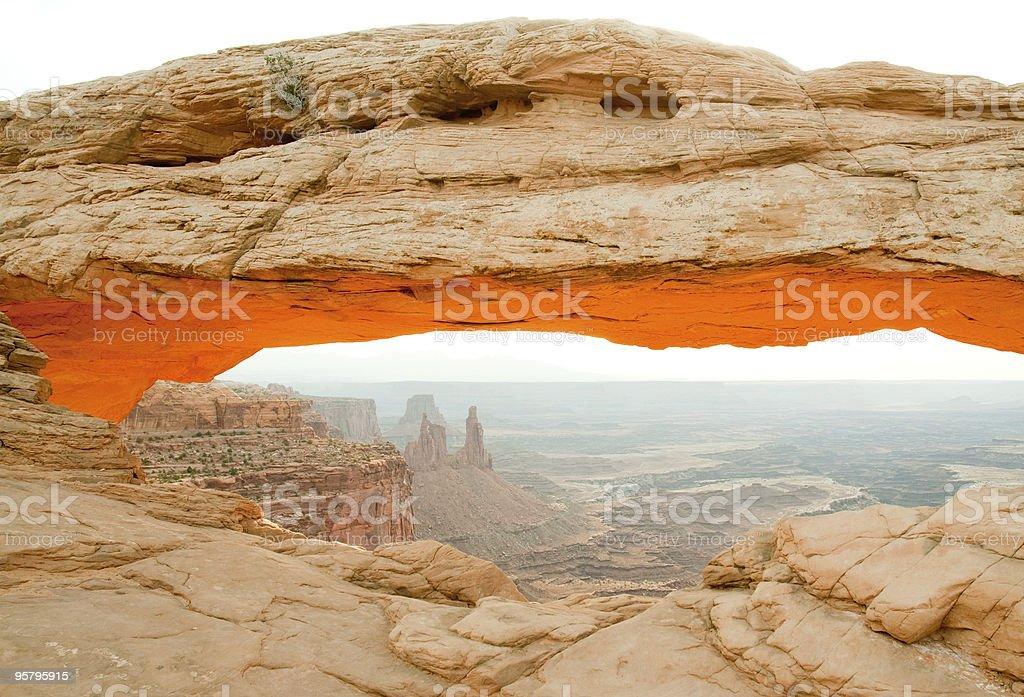 Mesa Arch royalty-free stock photo