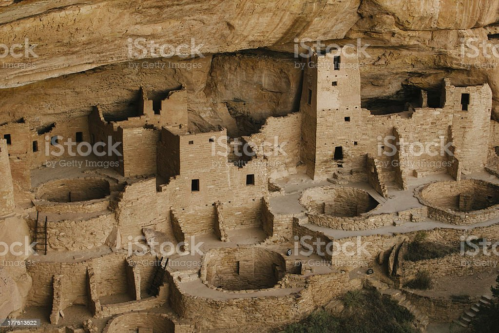 Mesa Verde National Park Anasazi Ruins stock photo