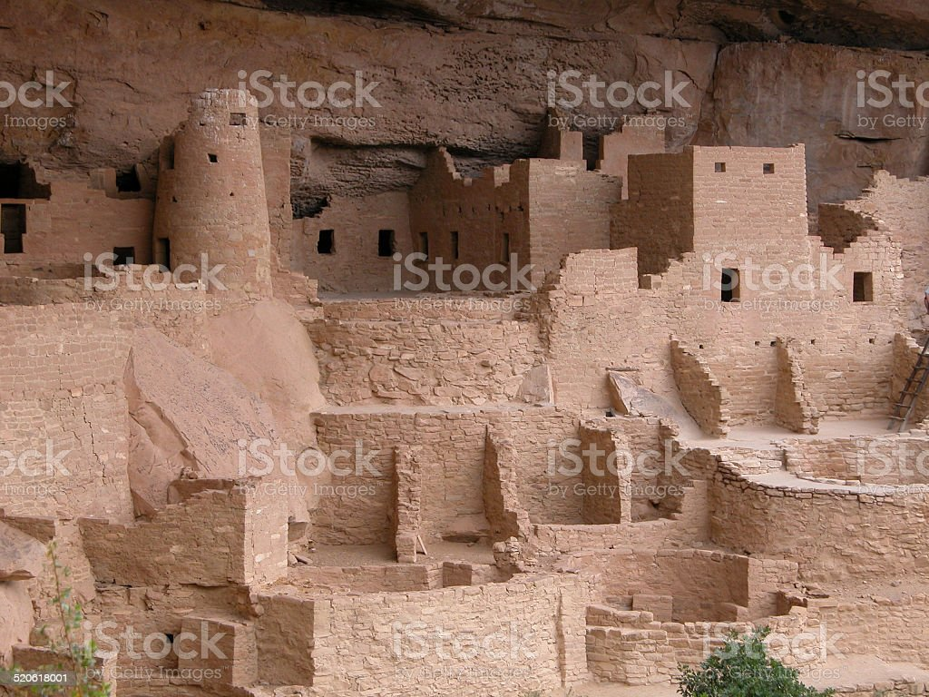 Mesa Verde National Park - Colorado stock photo