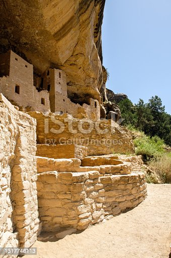 Cliff Palace at Mesa Verde National Park in Mesa Verde, Colorado