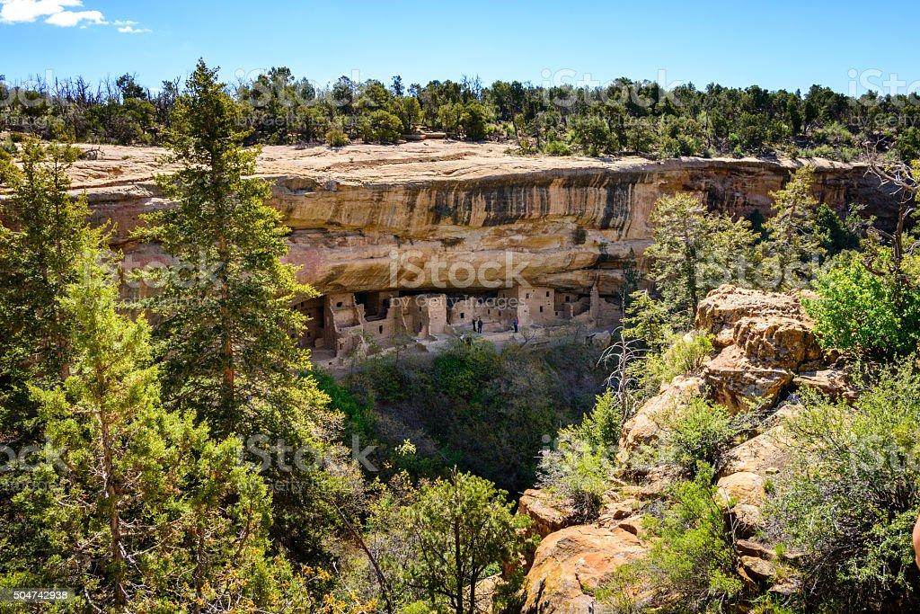 Mesa Verde National Park stock photo