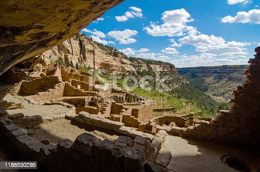 Mesa Verde National Park - Wetherill Mesa - Long House View Into the Past