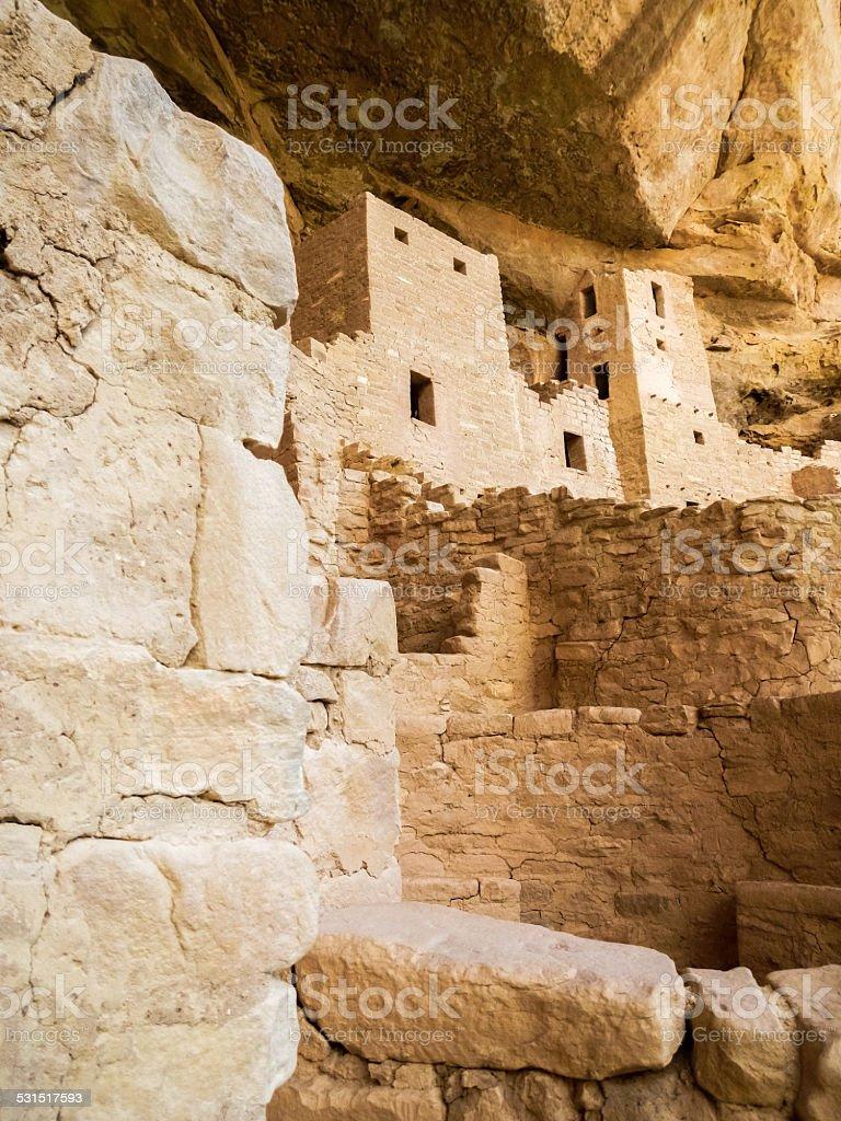 Mesa Verde Ruins stock photo