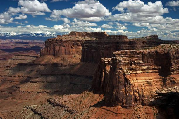 Mesas in the  Canyonlands, Utah stock photo