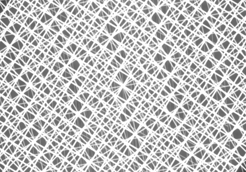 868704438 istock photo Mesh or net with lines and geometrics shapes detail 1080404312